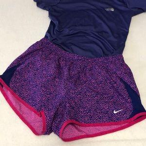 Nike Dri-fit women's size M running 🏃♀️ shorts